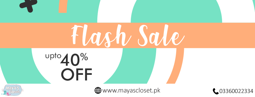 Maya's Closet | Baby Clothing and Accessories online in Pakistan